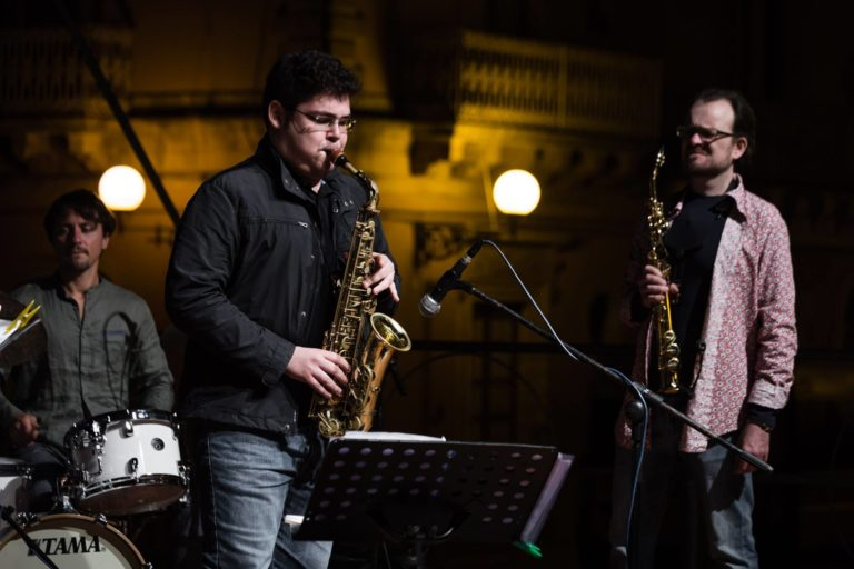 Nicola Caminiti Vittoria Jazz Festival 2018 Gaetano Partipilo