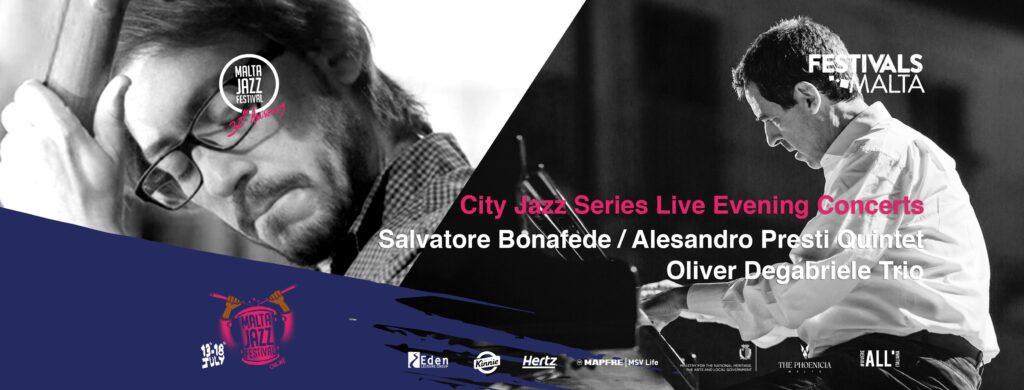Salvatore Bonafede Alessandro Presti Quintet Malta Jazz Festival