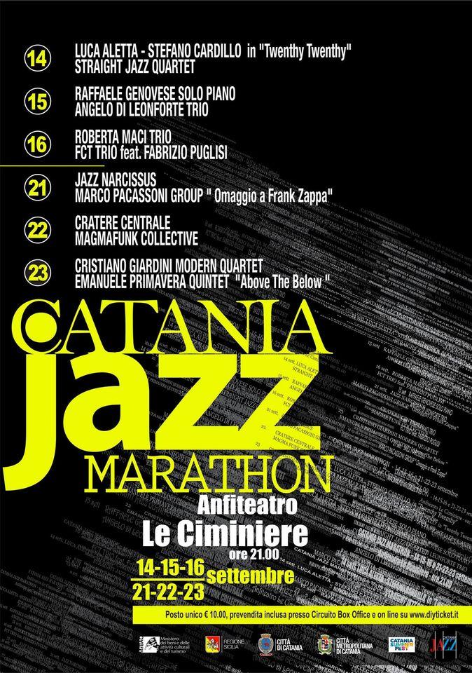 Catania Jazz Marathon Primavera