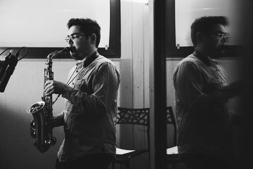 Nicola Caminiti Studio Recording
